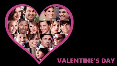 Valentin nap film, Valentin nap film szereposztás