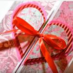 Valentin-napi képeslap készítés