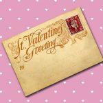 Vintage valentin napi képeslapok