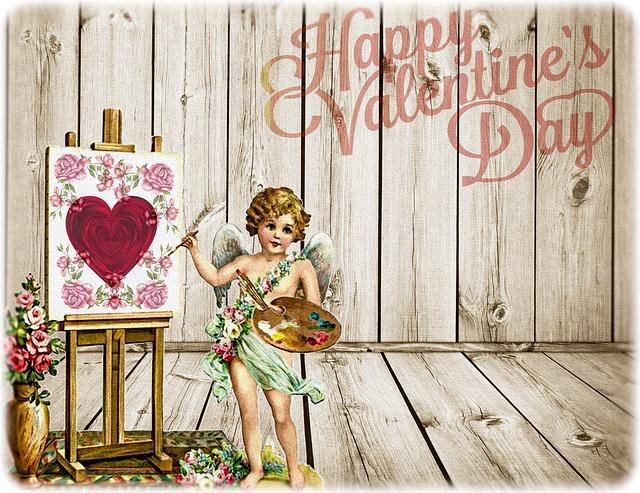 vintage valentin napi képeslap2