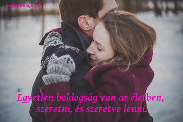 megható valentin-napi idézet, szeretve lenni